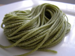 pesto spaghetti - Copy