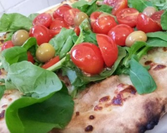 cherry tomato pizza, Ponza