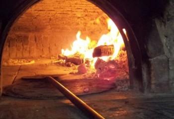 wood pizza oven, Ponza, Italy